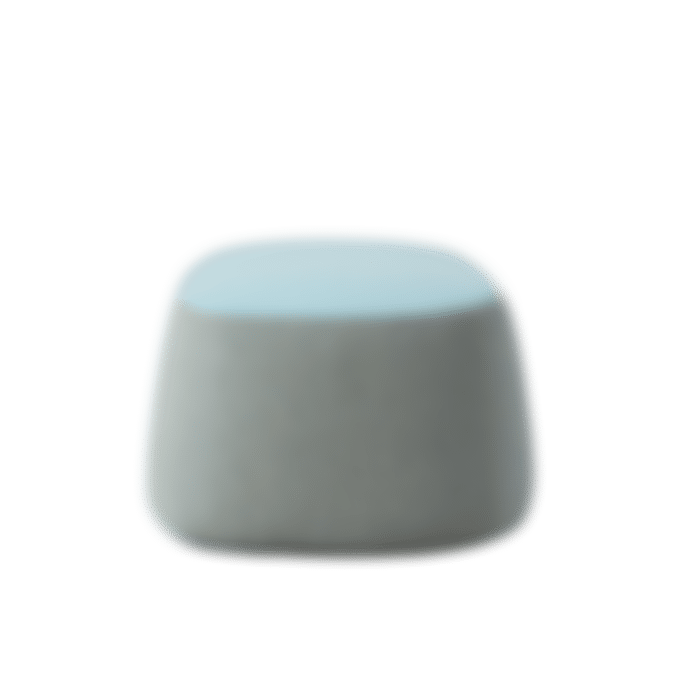products openest chick pouf no back