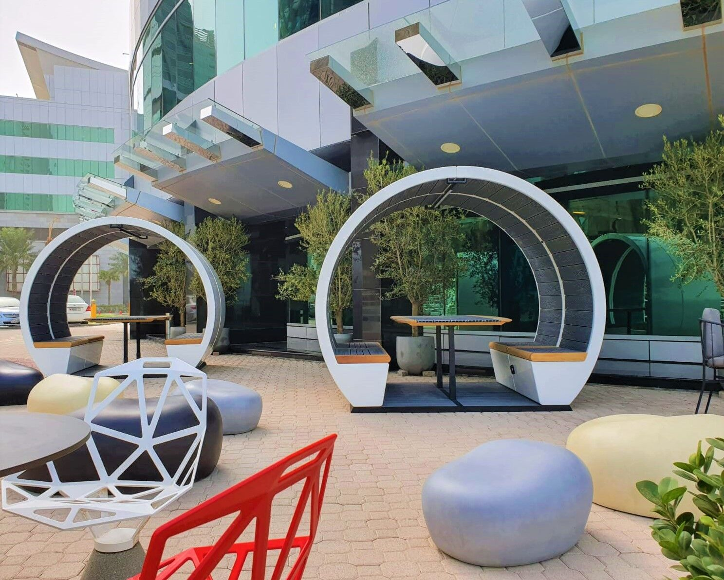 products outdoor pods insitu