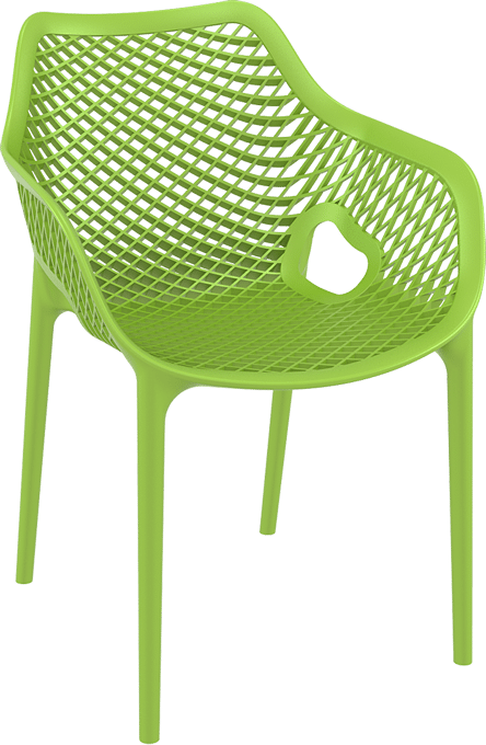 products oxygen chair arms green