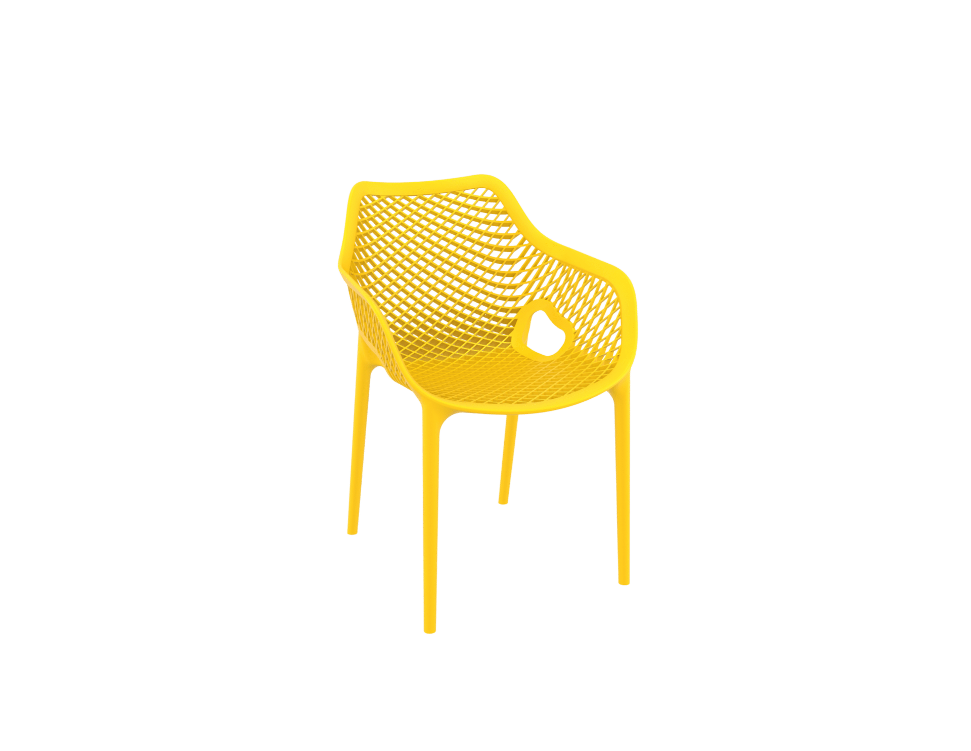 products oxygen chair arms yellow