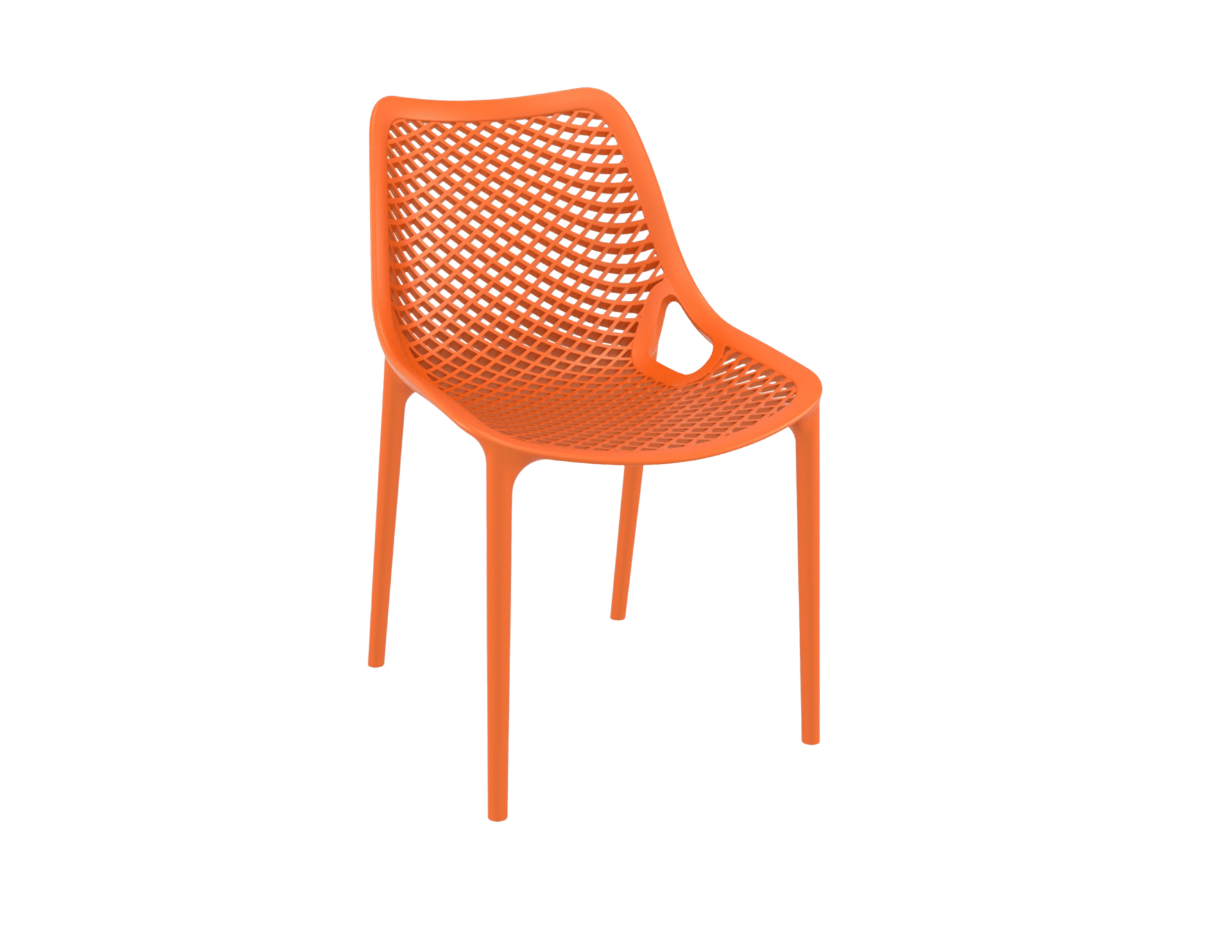 products oxygen chair orange