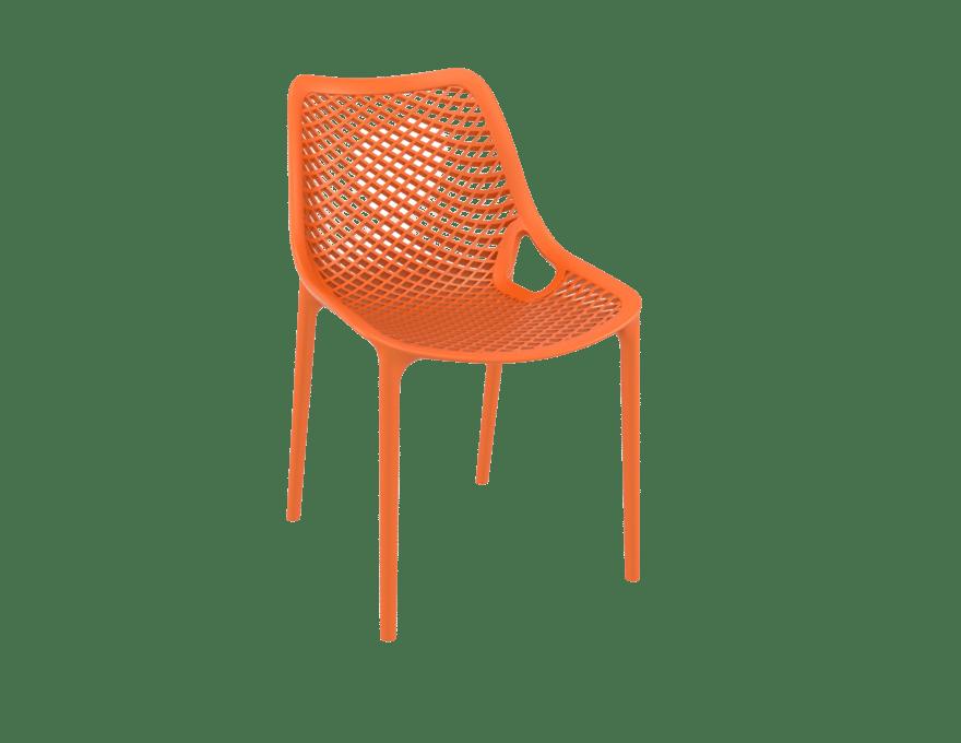 products oxygen chair orange