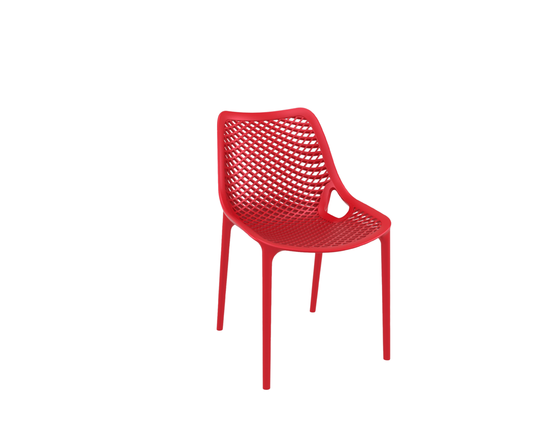 products oxygen chair red