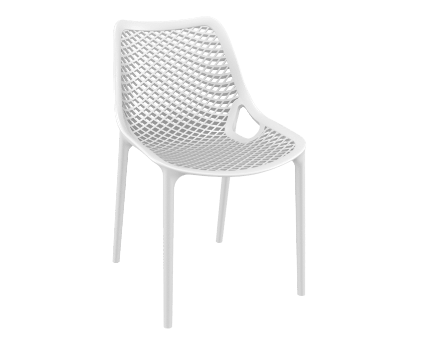 products oxygen chair white