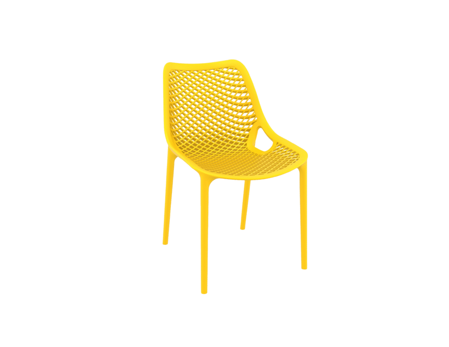 products oxygen chair yellow