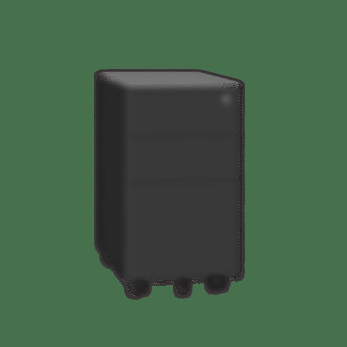 products slimline pedestal black