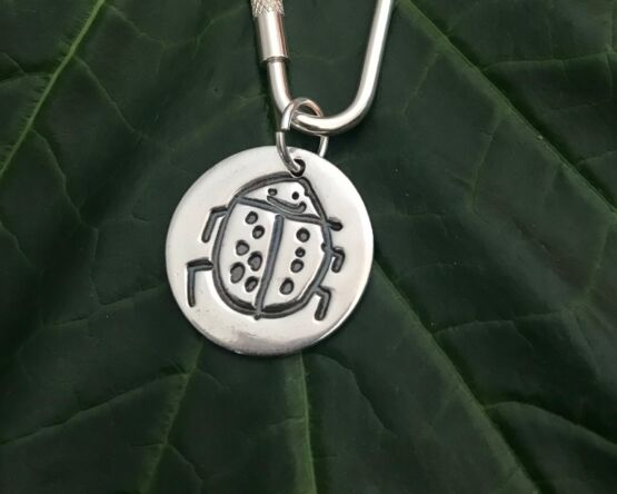 Little Works of Art Circle Key Ring
