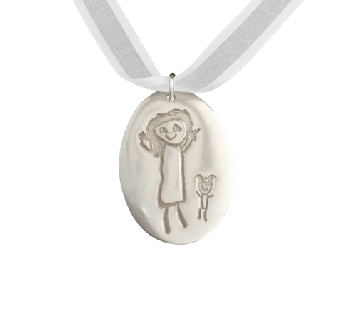 Little Works of Art Oval Pendant