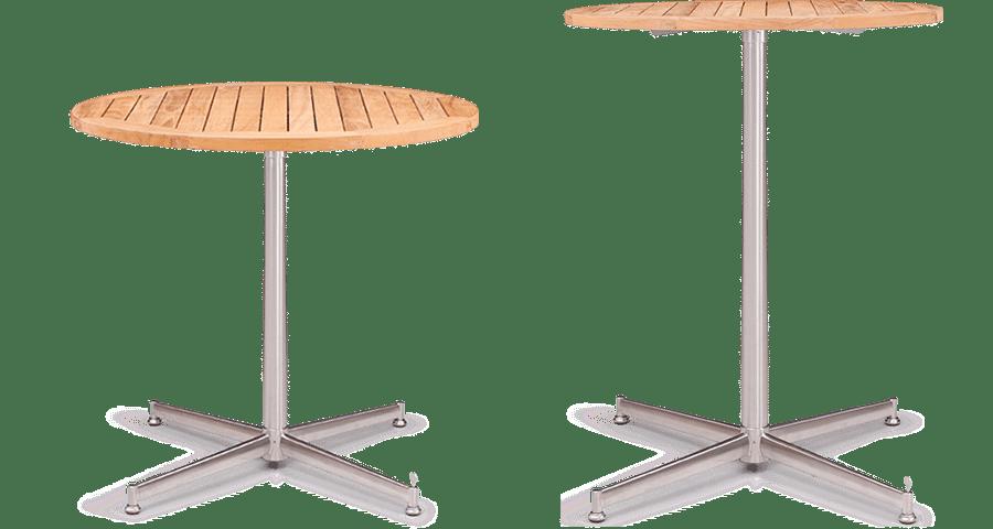 BA Arco Table Leaner Base Pedestal Base Outdoor Table hospo