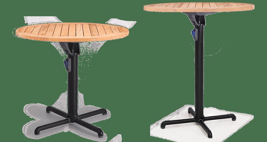 BA Gyro Table Leaner Base Folding