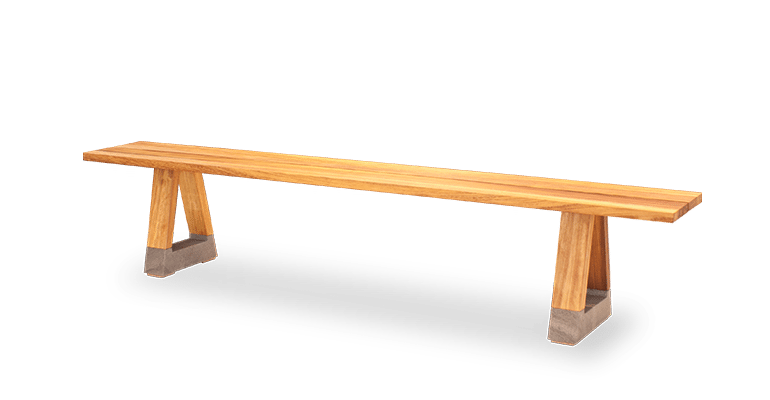 BS Slab Outdoor Bench Seat