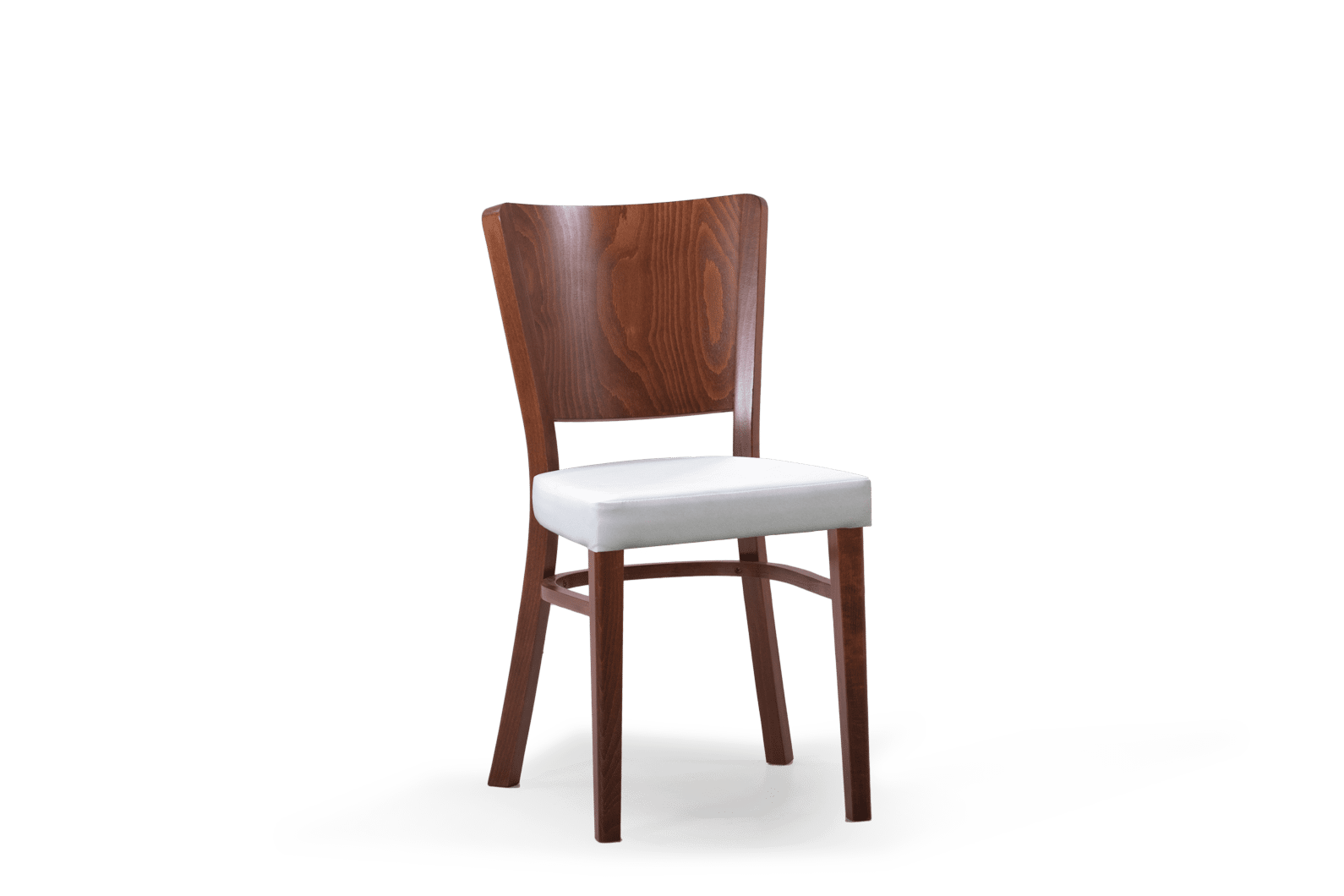 CH Berlin Chair Stained Walnut Uphol