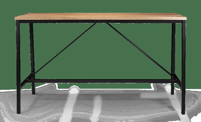 LE Fero Leaner Bar Leaner Steel Leaner Solid Timber Leaner hospo