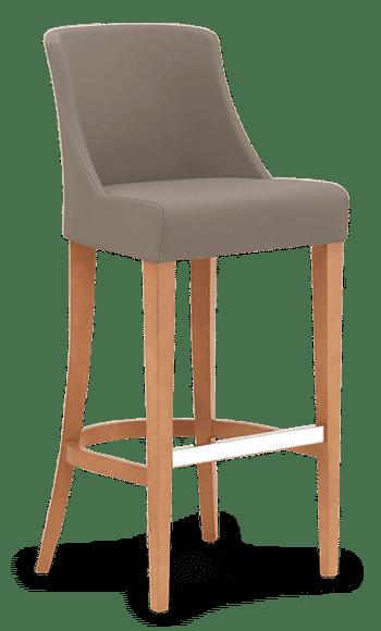 ST Ambra Stool Bar Stool Bar Chair Upholstered Restaurant Stool Dining Stool hospo