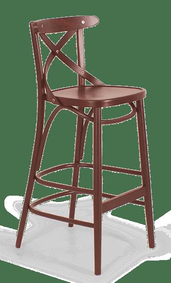 ST Crossback Stool Bar Stool Bar Chair Timber Stool Cafe Stool Restaurant Stool Bentwood hospo