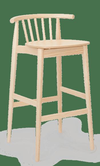 ST Tivoli stool bar chair clear
