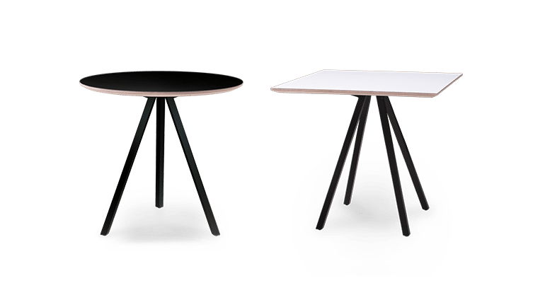 TB Poise duo Cafe Tables