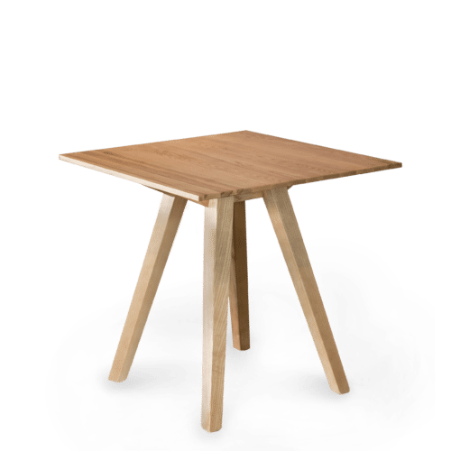 TB Ikon Trestle Table Square stained clear