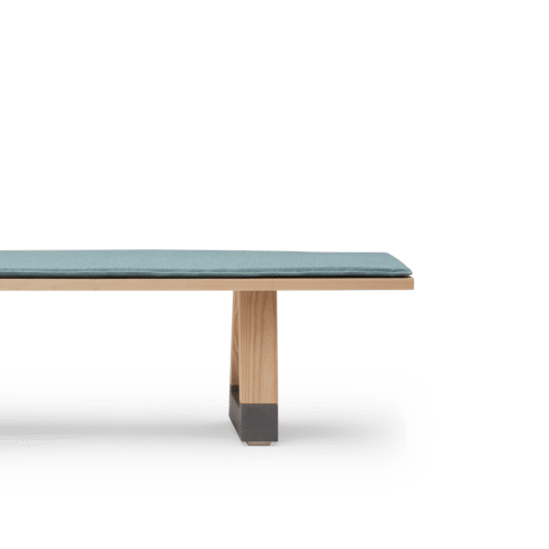 BS Slab Bench Seat Clear with Seat Pad Side
