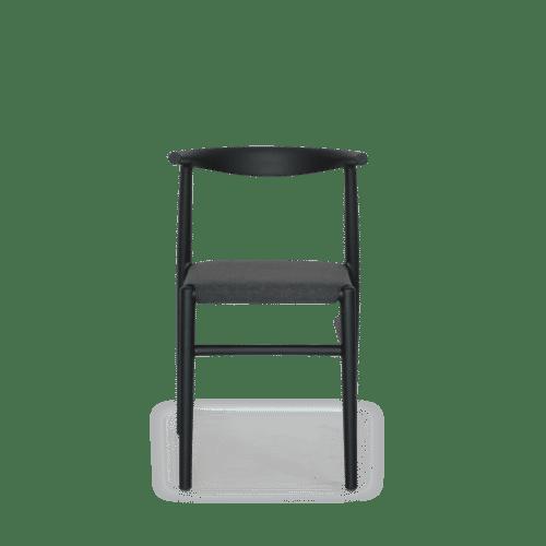 CH Alba Chair black front