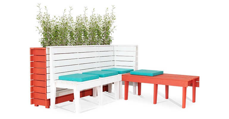 BA Season Outdoor Seating setting sitewide