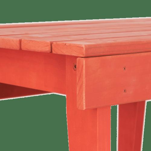 BS Season Bench Seat red detail