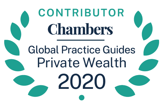 Chambers GPG Contributor Private Wealth Badge