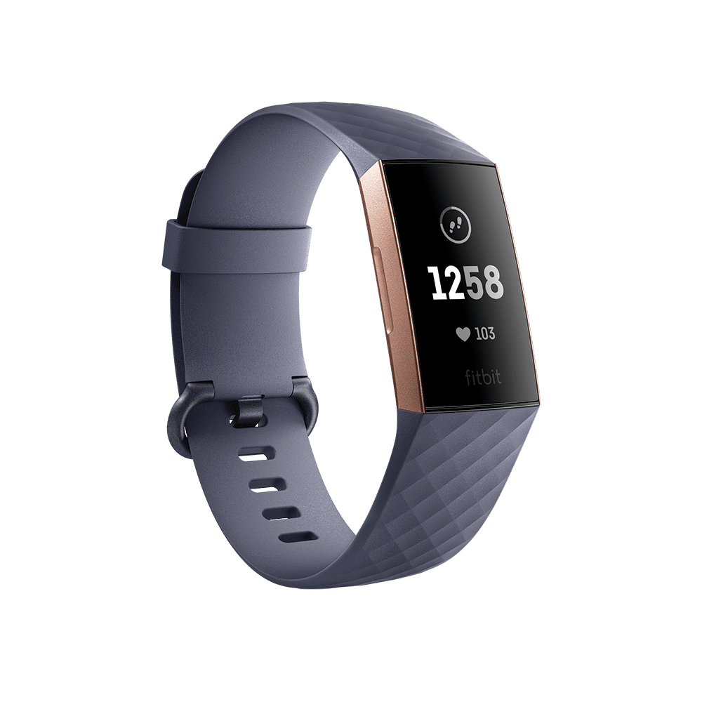 354361 Fitbit Charge 3 Rose Gold
