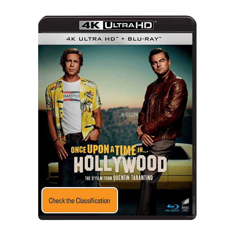 4K Once Upon A Time In Hollywood