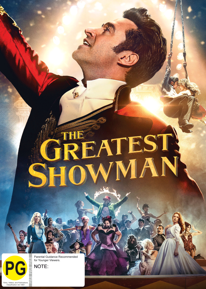 5053083159061_Greatest Showman_DVD