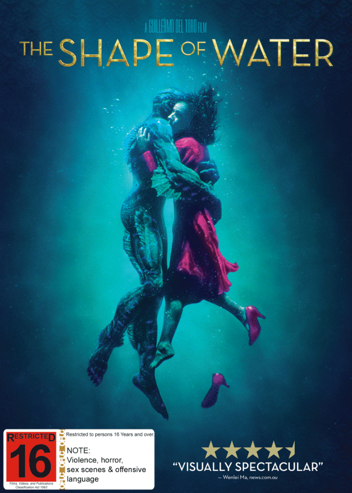 Shape of Water DVD