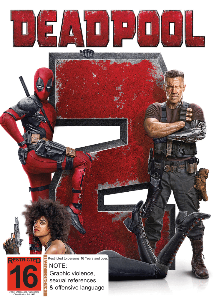 5053083164775_Deadpool 2_DVD