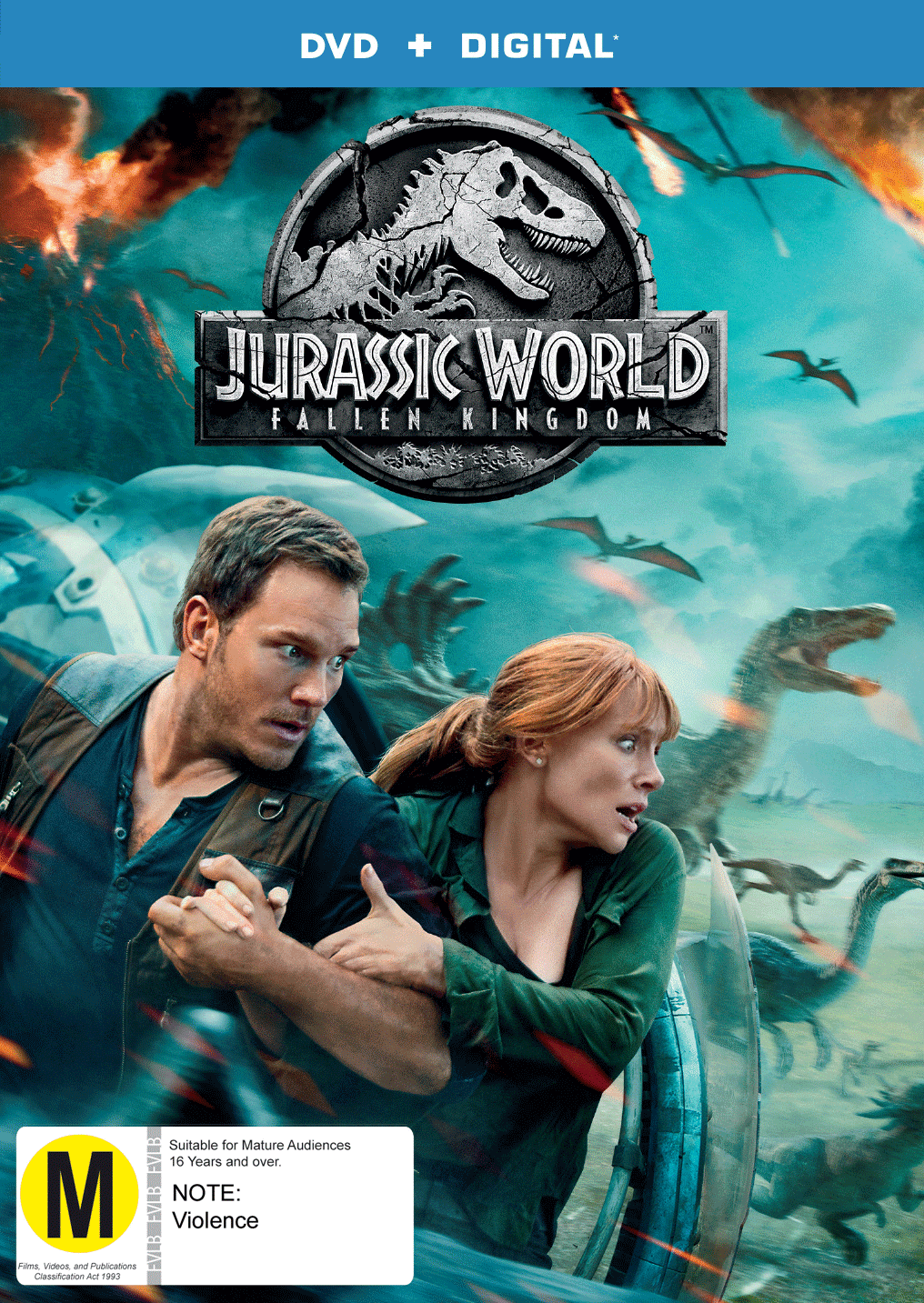 9317731139277_Jurassic World Fallen Kingdom_DVD