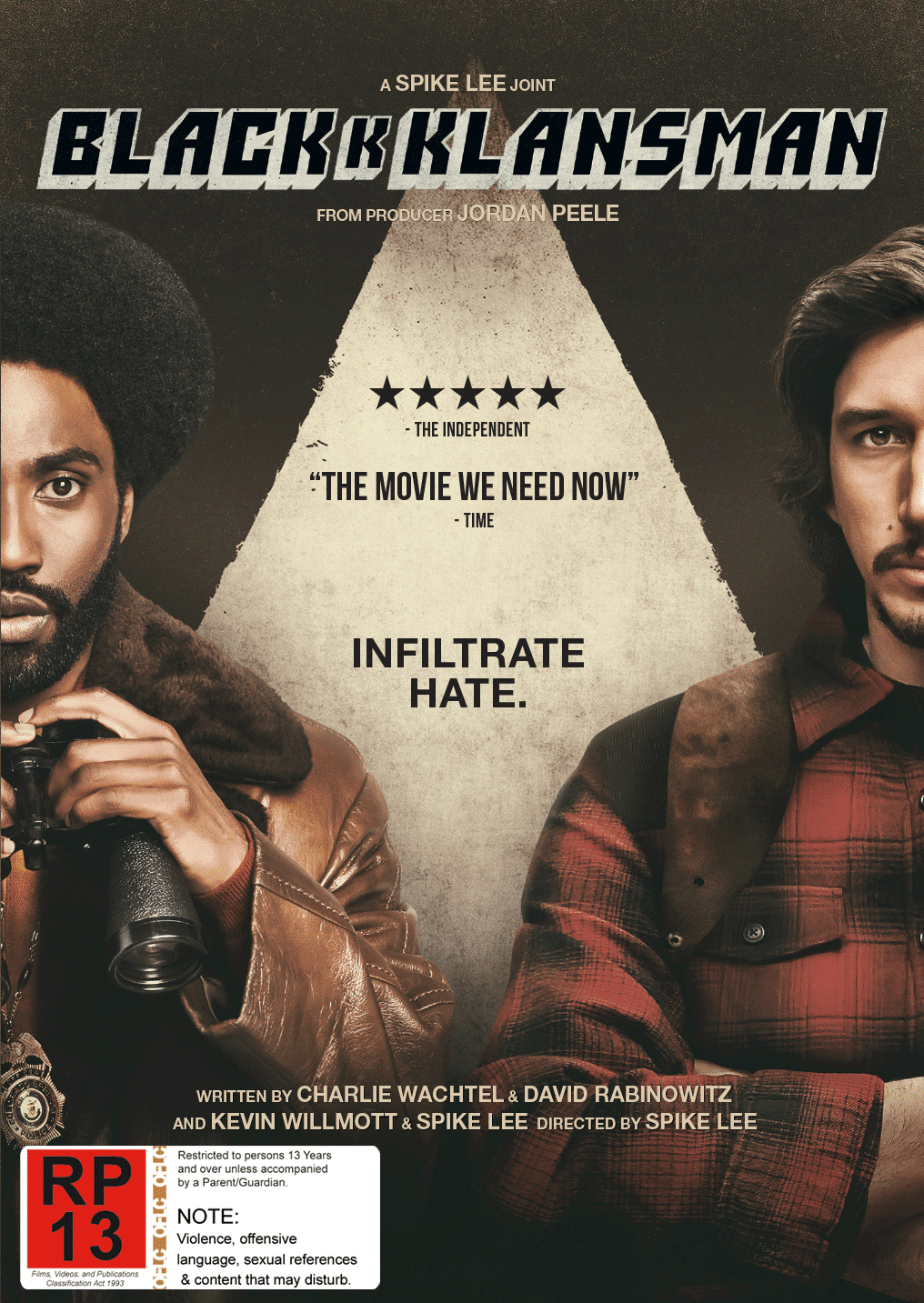 Blackkklansman DVD