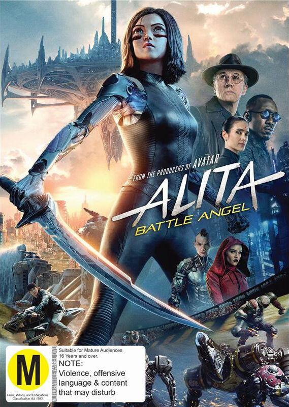 Alita Battle Angel Cropped