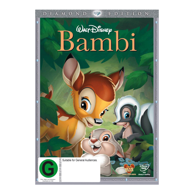 Bambi DE DVD D