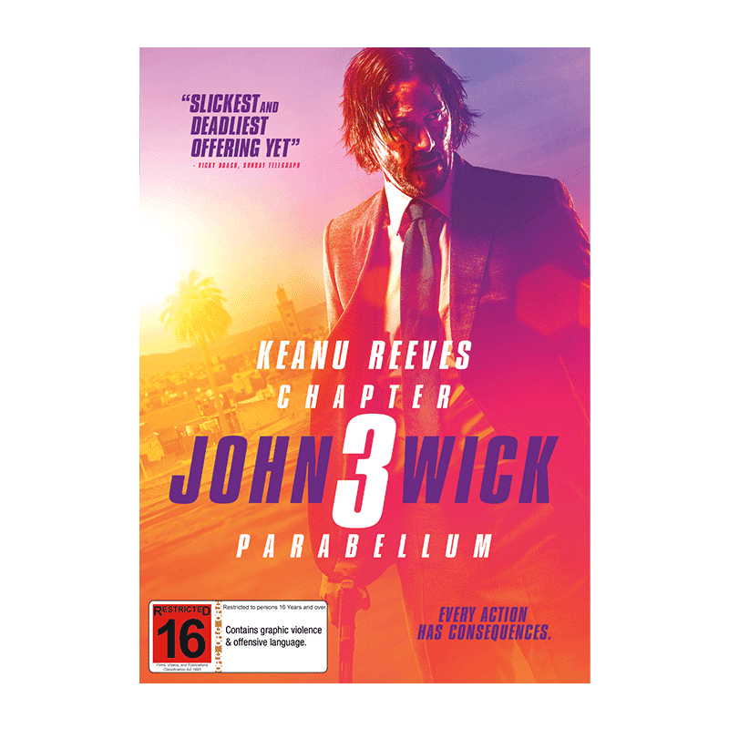 DVD John Wick Chapter