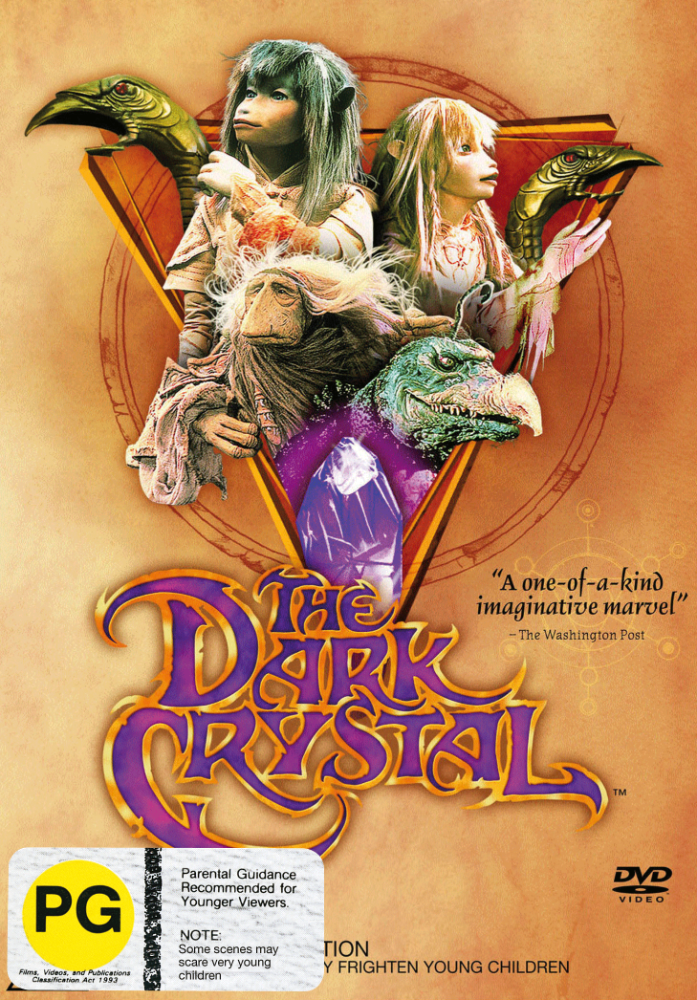 Dark Crystal DVD 2D