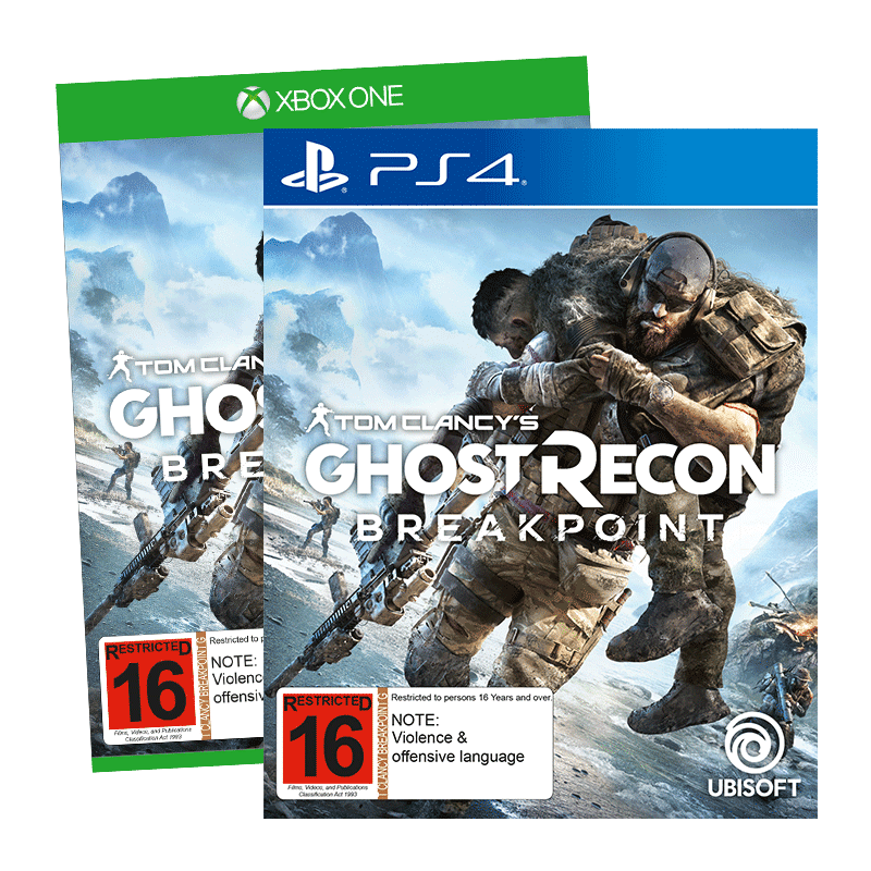 Ghost Recon Breakpoint PS XB