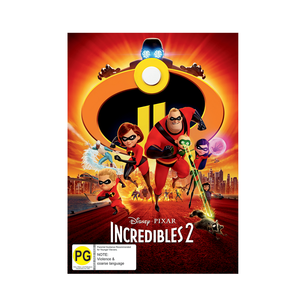 Incredibles ENZ DVD D