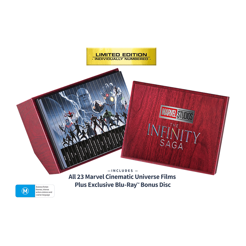 MCU Infinity Collection Packshot