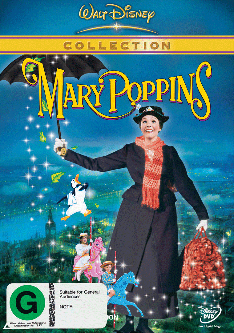 Mary Poppins WDC DVD 2D