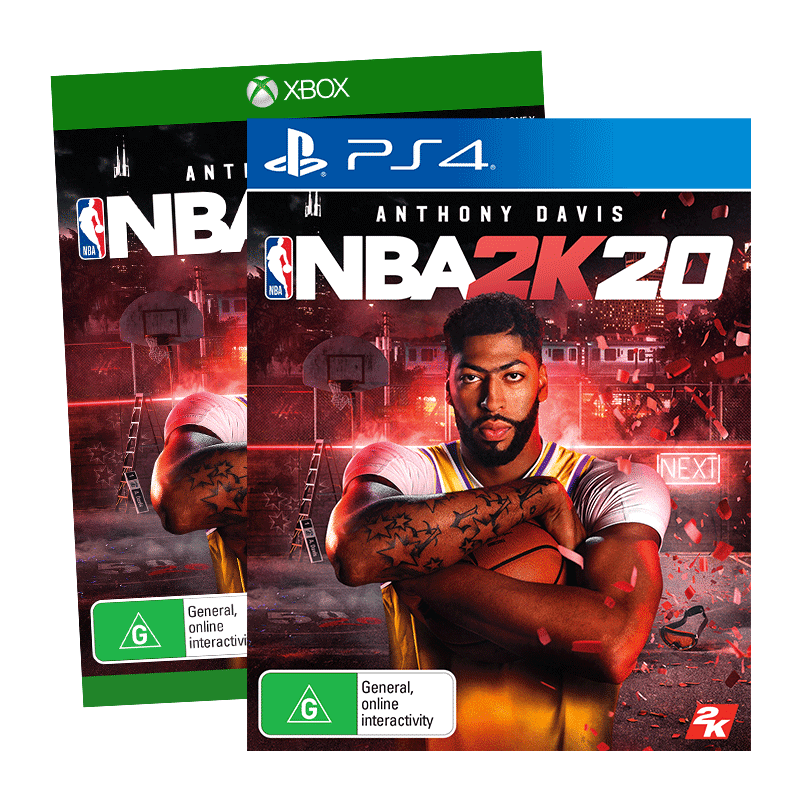 NBA 2k20 PS4 XB1