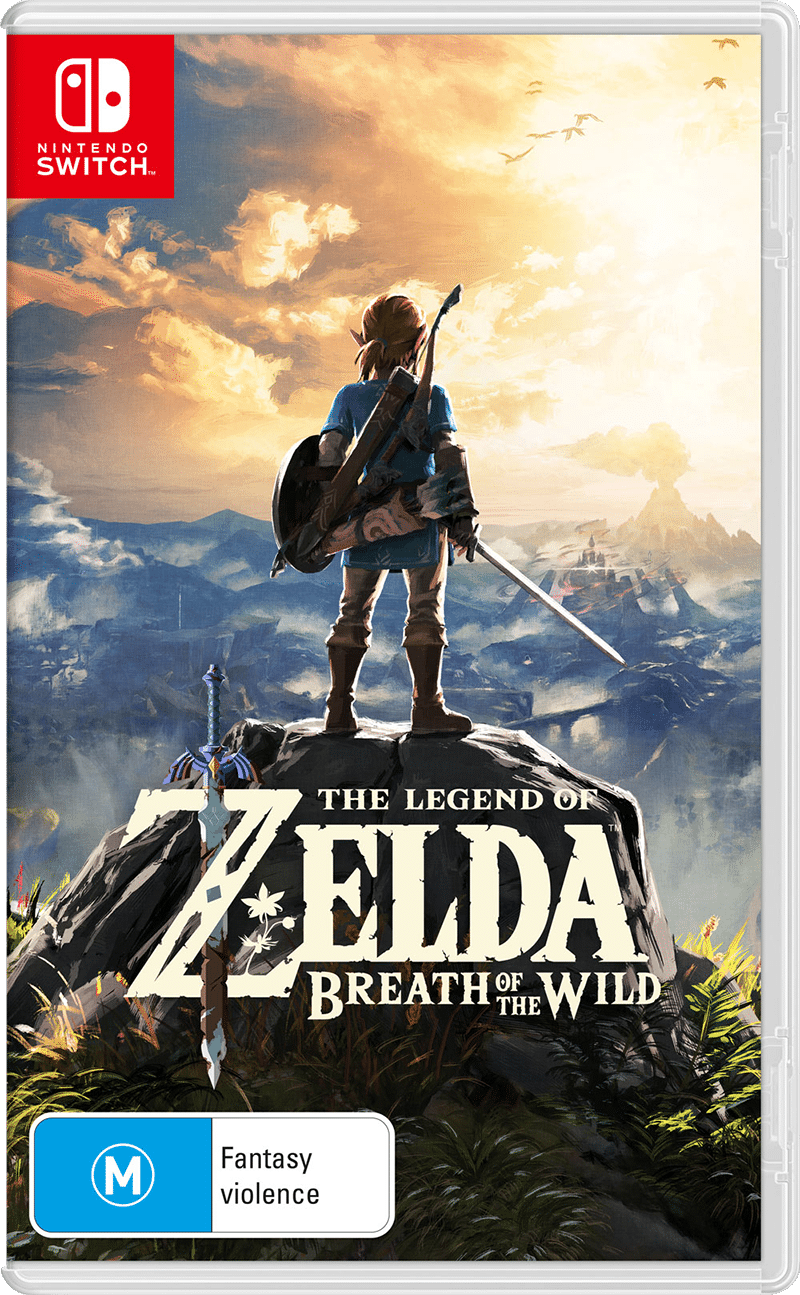 NSW ZELDA BREATH OF THE WILD 328738