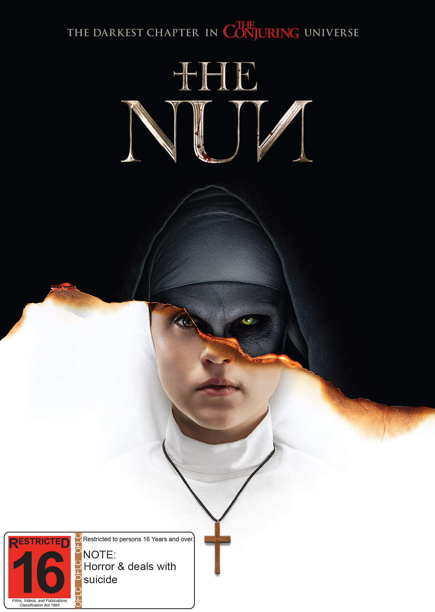 R NZ The Nun DVD D Pack Hi