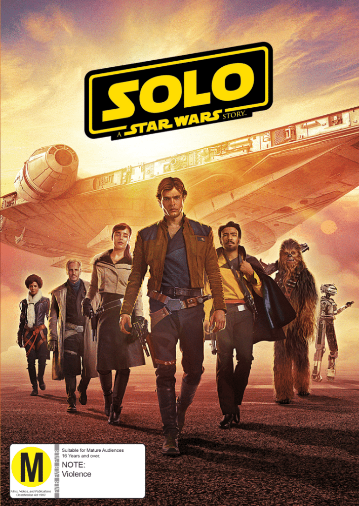 Solo A Star Wars Story ENZ31320 DVD 2D