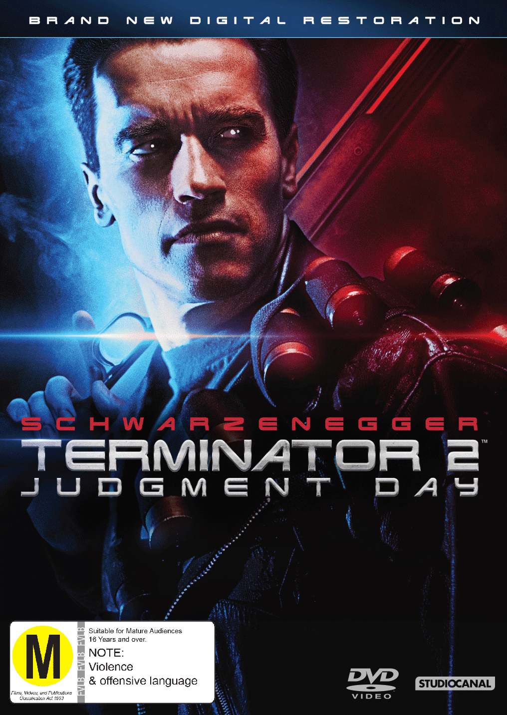 TERMINATOR JUDGEMENT DAY D DVD D