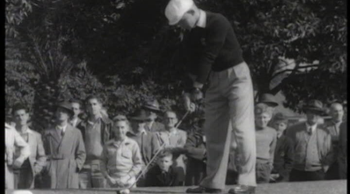 889873500 harry berwick title sequence golf swing golf tournament