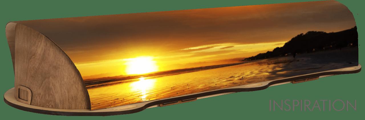 Inspiration: Ohope beach at sunrise