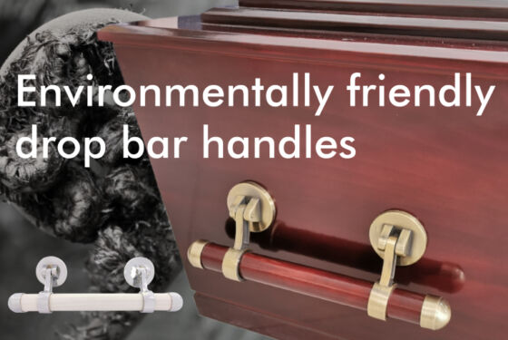 Environmentally friendly drop bar handles